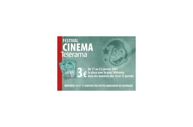 Bon plan ciné : le Festival Cinéma Télérama