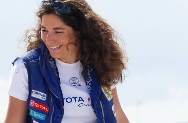 Corentine Quiniou, pilote automobile