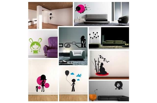 Customise tes murs avec des méchants vinyls