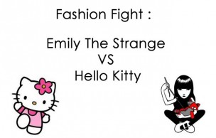Lien permanent vers [Fashion Fight] Emily The Strange VS Hello Kitty