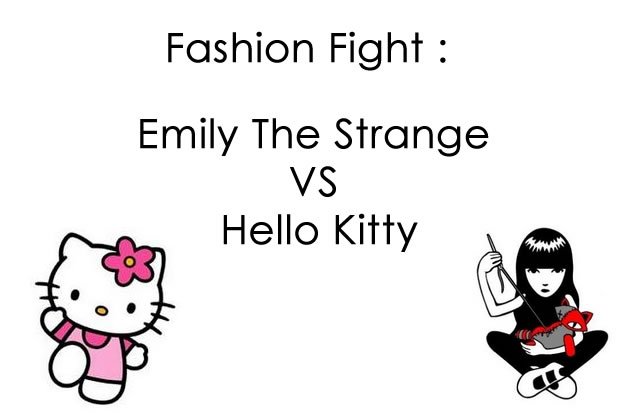 [Fashion Fight] Emily The Strange VS Hello Kitty