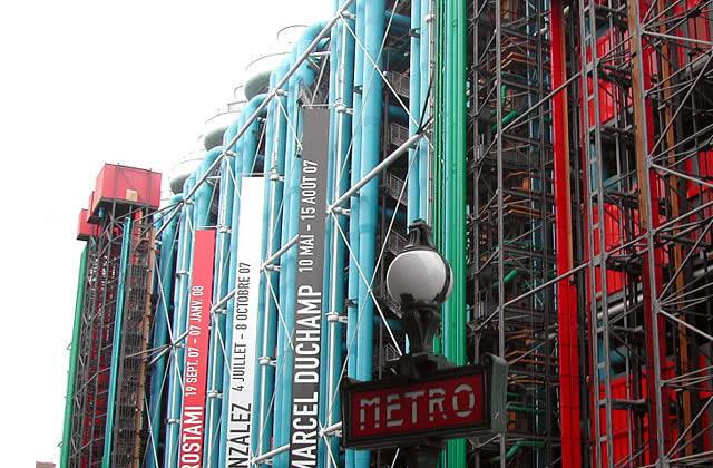 Le centre Georges Pompidou fête ses 30 ans