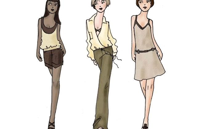 Tendances Mode Printemps-été 2007
