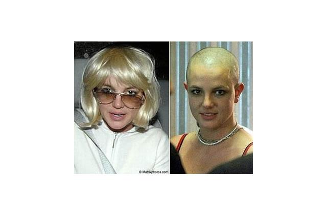 Britney se rase la tête…