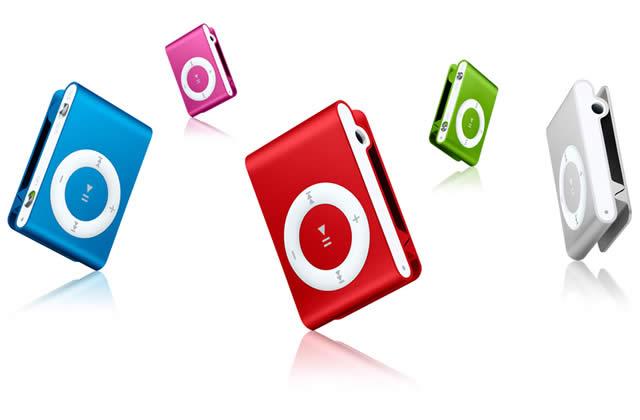 De la couleur pour ton iPod Shuffle !