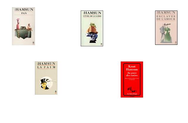 Les écrivains Prix Nobel : Knut Hamsun