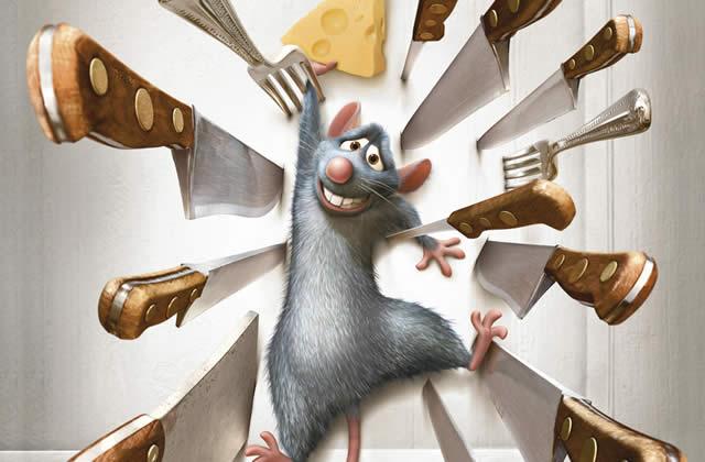 Une petite vidéo de Ratatouille (Pixar) échappée sur le web