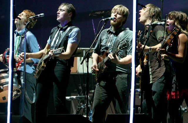 Arcade Fire en Concert à Emporter