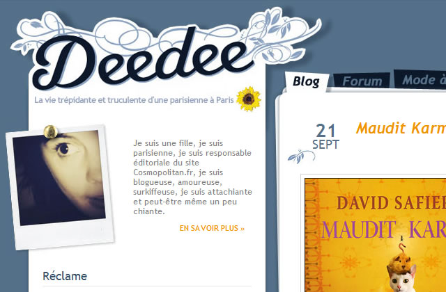 Deedee lance ses Deedeecasts
