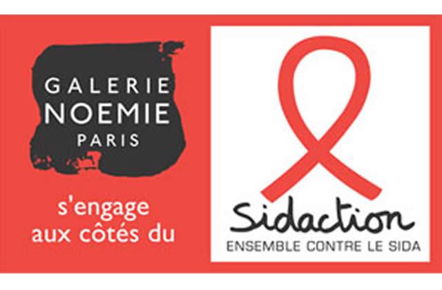 Galerie Noémie s'engage contre le SIDA