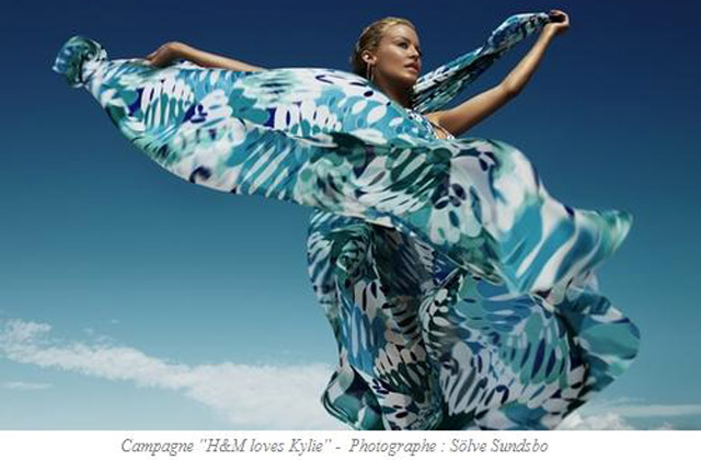 H&M dédie à Kylie Minogue une collection plage