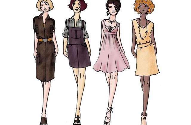 Les robes du printemps-été 2007