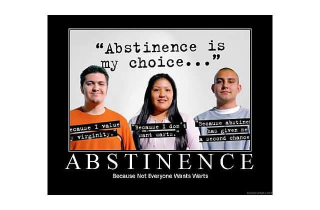 L'abstinence sexuelle ne s'apprend pas…