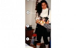 Lien permanent vers Leggings + chaussettes + jupe à bretelles = Madonnaze