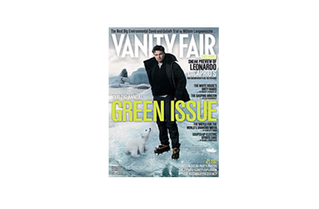 Vanity Fair The Green Issue, deuxième !