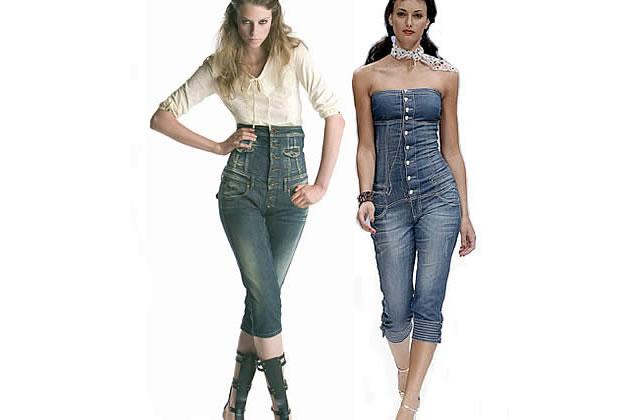 Jeans taille haute : taïaut aux tailles basses