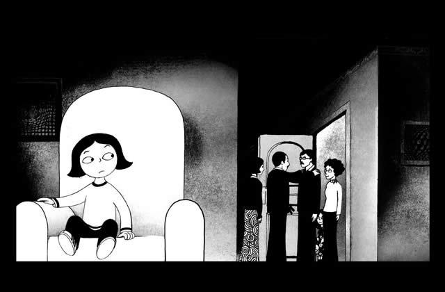 Persepolis, le film : quelques images