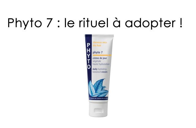 Phyto 7, un nouveau rituel à adopter d'urgence !