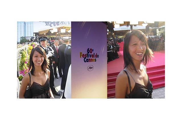 Tiffany, stagiaire au Festival de Cannes
