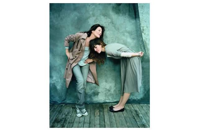 Jane Birkin et Lou Doillon posent pour La Redoute