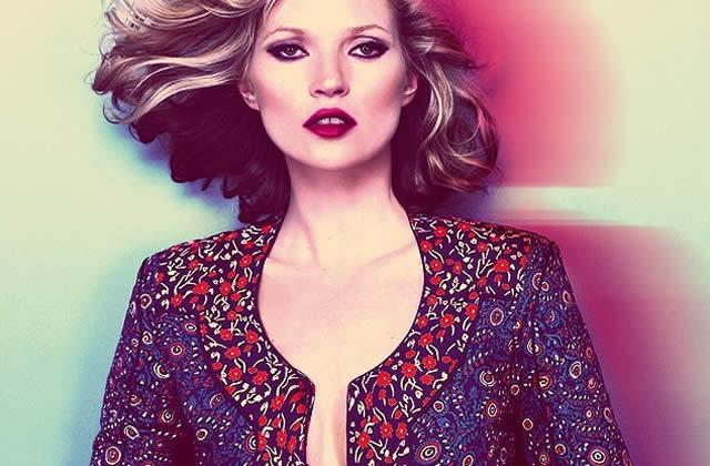 Kate Moss, de retour chez Topshop