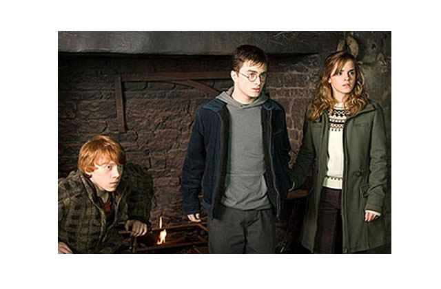Le train « Harry Potter et l'Ordre du Phénix »