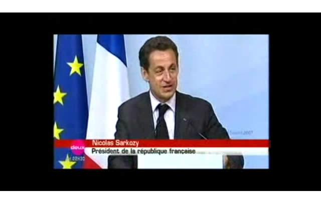 Nicolas Sarkozy, bourré au G8