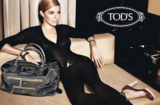 Sienna Miller pour Tod's