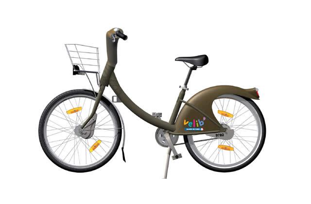 Inauguration de Vélib', le vélo en libre-service