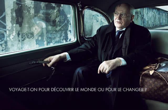 Gorbachev égérie pour… Louis Vuitton