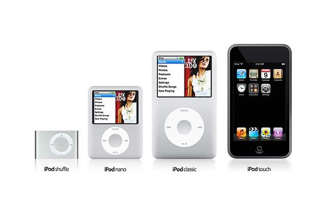L'iPod touch et la nouvelle ligne iPod présentée