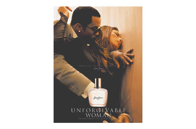 Diddy et son parfum Unforgivable Woman censuré