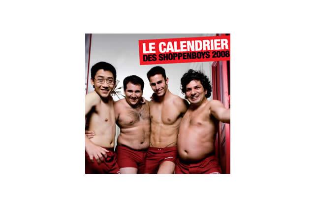 Le calendrier des shoppenboys est arrivé !