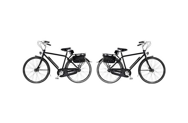 Vélo de luxe chez Chanel