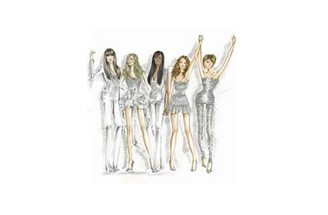 Roberto Cavalli, styliste du Spice Girls Tour