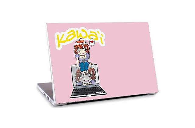 [Idée cadeau] Des stickers de fille pour ton ordi !
