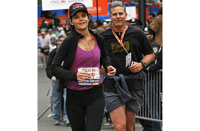 Katie Holmes, Marathon and the City