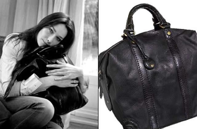 Le sac de Carla Bruni pour Tommy Hilfiger
