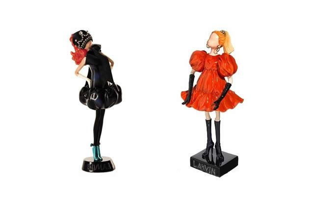 Les poupées Lanvin, bijoux de mode