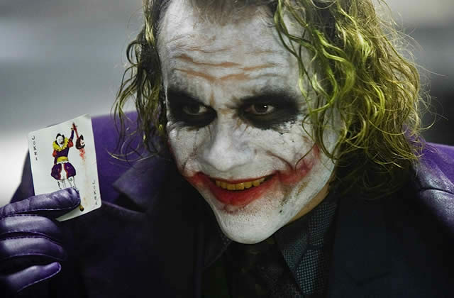 Heath Ledger en Joker fait la couv d'Empire
