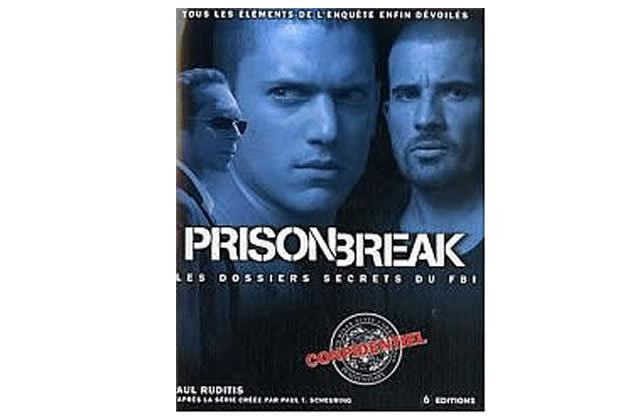 Idée cadeau : Prison Break, le fan book