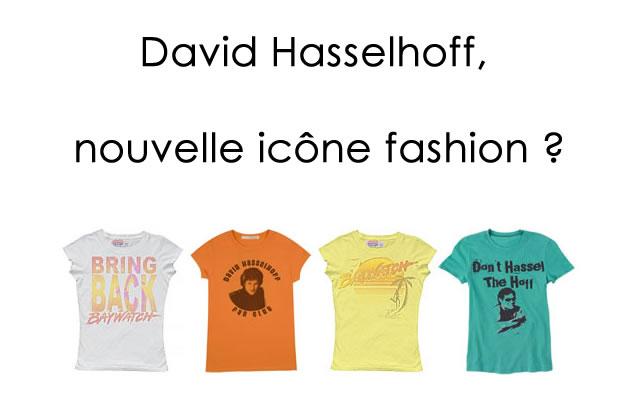 David Hasselhoff, nouvelle icône fashion ?