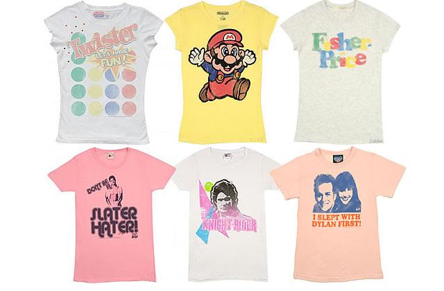 Nerd Mania : les t-shirts vintage