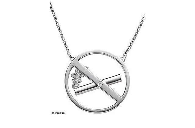 Le collier «Stop la clope» !
