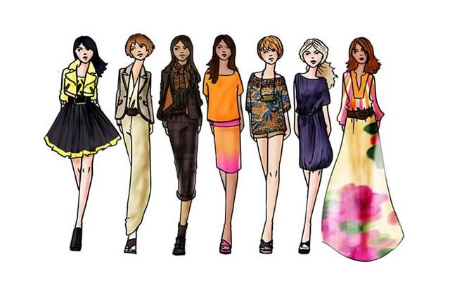 Tendances Mode de notre styliste Printemps Eté 2008