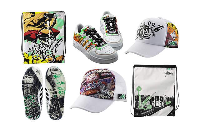 Cope2 chez Adidas : le graff new-yorkais à l'honneur !
