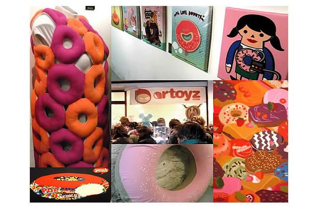 Expo – La Donuts Party met les beignets à l'honneur