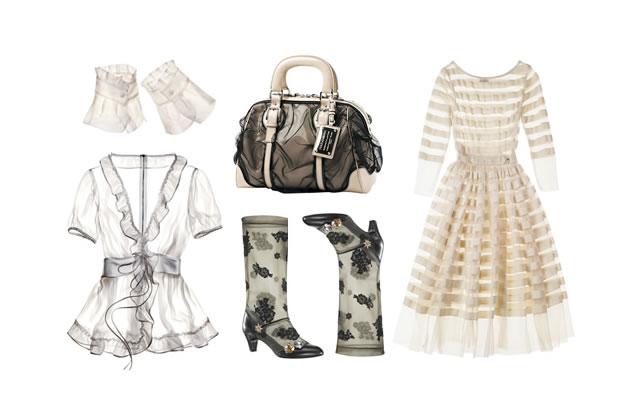 Tendance Transparence : des vêtements qui dévoilent  tout ?