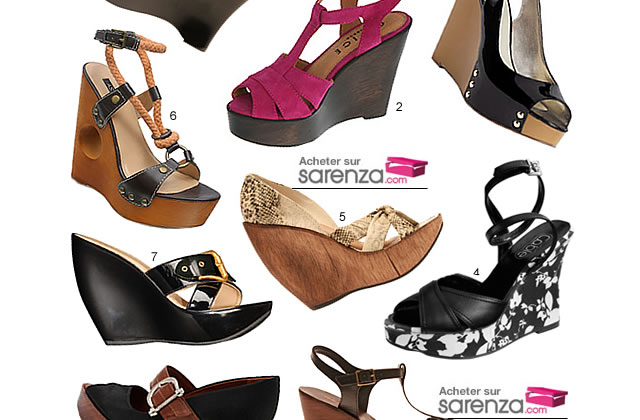 Chaussures compensées pour hauts vertiges