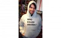 Who Killed Obama ?, le sweat-shirt (glauque)